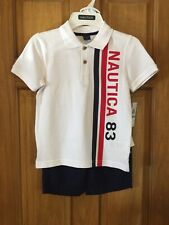 Boys Nautica short set size 5