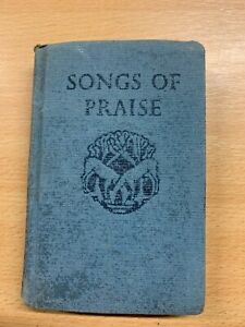 "1968 ""SONGS OF PRAISE"" RELIGIOUS SMALL CHRISTIAN BOOK (P2)"