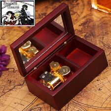 Rectangle Wood Jewelry Wind Up Music Box : Pandora Heart - Everytime You Kissed