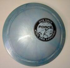 New Discraft Ti Swirl Force 173-174 distance driver disc golf silver blue
