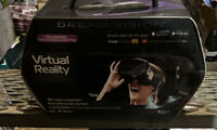 Dream Vision VR Virtual Reality 360 Smartphone Headset Earbuds iOS Android Black