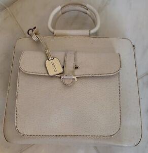 Gucci Rigid Structured off White Handbag