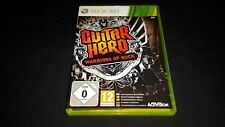 Guitar Hero Warriors of Rock - XBOX 360 GAME Boxed + Manual