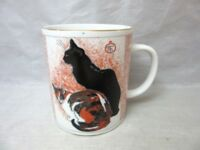 Theophile Steinlen Cats mug from Boston Museum of Fine Arts