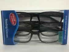 Lot of 3 Reading Glasses Kenneth  +1.50 New in Package