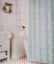 "Threshold  Shower Curtain ""Snow Flakes"" 72"" X 72"" Baby Blue & White Snowflakes #"