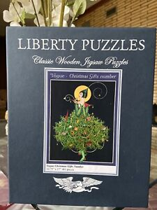 Liberty Classic Wooden Jigsaw Puzzles: Vogue Christmas Edition