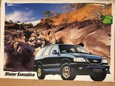 AUTOMOBILE BROCHURE - 1999 CHEVROLET BLAZER Executive-Brésil