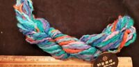 50 gram Noro Big Babe 25 meter skein bulky mixed colors and fibers #2 turquise+