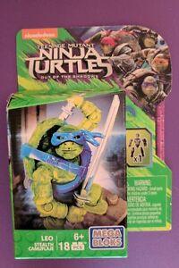 Mega Bloks Nickelodeon Teenage Mutant Ninja Turtles Stealth Leo Mini Figure