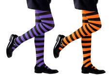 Garçons//Enfants Chaussettes Âge 9-11 ans Noir Orange à Rayures Chaussettes 1 Paire