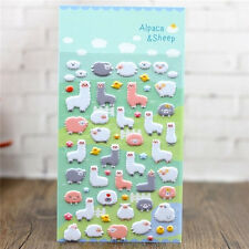 Korea Design Alpaca Sheep Bubble Sticker for Diary Reward Moblie Phone♫