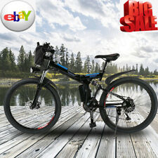 26 in Men's Electric Mountain Bike Outdoor Riding 30km/h Bicycle Steel Frame New