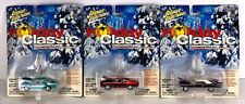 JOHNNY LIGHTNING MUSCLE CARS U.S.A.  Holiday Classic Ornaments 1:64 LOT of 3