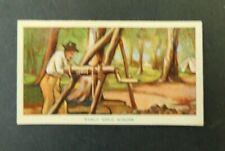 c1940 Hoadleys Trade Card Birth of a Nation #30 Early Gold Mining  Australiana