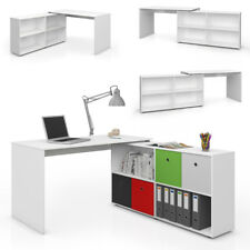 VICCO Eckschreibtisch FlexPlus Schreibtisch Computertisch PC Bürotisch Büro