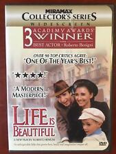 Life Is Beautiful (Dvd, 1997, Widescreen) - G0308