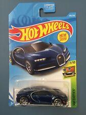 Hot Wheels '16 Bugatti Chiron 🏁🏁 Blue 🏁🏁