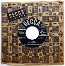 NORO MORALES 45 La Rueda / Como Yo No Hay LATIN Guaracha DECCA 1950's c1796