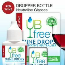 UBFree Red Wine Drops - Sulfite Neutralizer