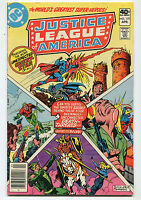 Justice League Of America #177 VF The Most Unexpected Guest Star Of All  CBX6A