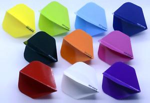 RAW 100 - Standard Shape Dart Flights, 100 micron, Quality flight in 10 colours