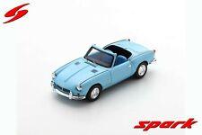 S2472 Spark:1/43 Triumph Spitfire 4 MK2 Open Top Convertible 1965 Robin Egg Blue