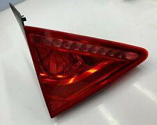 2012-2015 AUDI A7 S7  REAR LEFT DRIVER SIDE INNER TAIL LIGHT LAMP OEM 4G8945093A