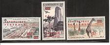 Cameroun # C38-40 Mnh United Kingdom Trust Te 00004000 Rritory Overprints