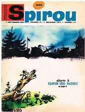 A17- Spirou N°1534 Les Petits Hommes