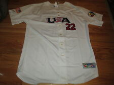 Authentic ROGER CLEMENS No. 22  '06 WORLD CLASSIC (48) Jersey YANKEES RED SOX
