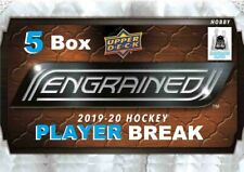 Sidney Crosby 2019-20 Upper Deck ENGRAINED 5 Box 1/2 Case Break Penguins