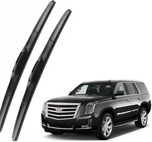 Genuine OEM Front Wiper Blades For 2015-2020 Cadillac Escalade / Escalade ESV