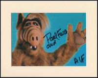 "Paul Fusco ALF A.L.F. Original Signed 10x8"" Mounted Autograph Photo COA"