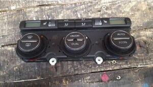 VW Golf mk5 Heater Climate Control Panel Heated Seats - 3C0907044DA