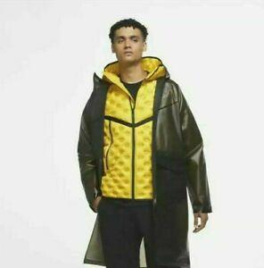 Nike Shield Tech Pack Jacket Men's Down-Fill 2 Piece Yellow Brown CU3770-010