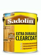 SADOLIN EXTRA DURABLE CLEARCOAT SATIN 1LTR WATERPROOF