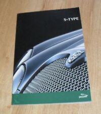 Paper S-Type 2002 Sales Car Brochures