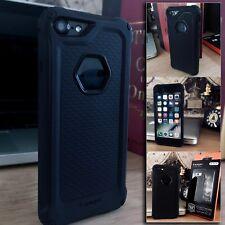Apple iPhone 7 Rugged Protective Case Black High Density Spidgen Cover