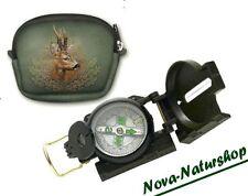 LED- Kompass mit Tasche Jagdtasche Rehwild, Kompass Set