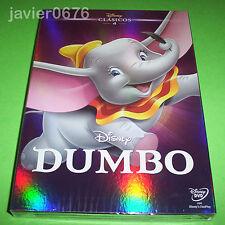 DUMBO CLASICO DISNEY NUMERO 4 - DVD NUEVO Y PRECINTADO SLIPCOVER