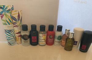 2x Molton Brown Bath & Shower Gel 50ml & 5x Body Shop 60ml & More, New