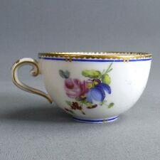 Sèvres Porcelaine Tendre Petite Tasse 18ème Bouquets