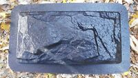 """MOLD flagstone brick plaster concrete resin casting 12"""" x 6"""" x up to 3/4"""" thick"""