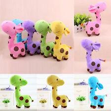 New Giraffe Soft Plush Toy Stuffed Animal Dear Doll Baby Kids Birthday Cute