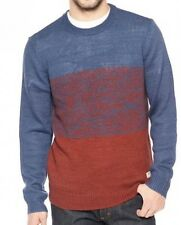 New Vans Mens Ruckman Knit Wool Blend Crew Sweater Top XL