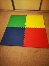 Tikk Tokk Interlocking Playmats In Excellent Condition ideal for any square play