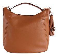 Michael Kors FRANCES X-Large Tassel Top Zip Shoulder Bag Hobo Acorn Nwt $398