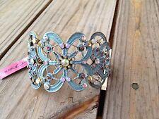 Betsey Johnson Girlie Grunch Butterfly Bracelet NWT