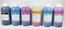 6x250ml Premium Refill ink for Epson 77 78 RX595 R380 RX680 R280 Artisan 50 CISS